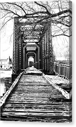 Old Bridge Canvas Print
