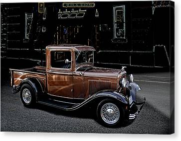 Old Brown Canvas Print