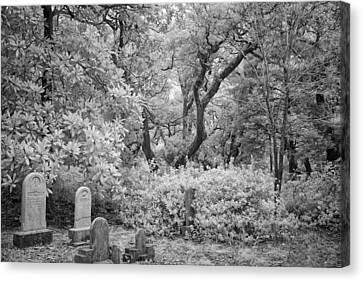 Old Burying Ground Canvas Print