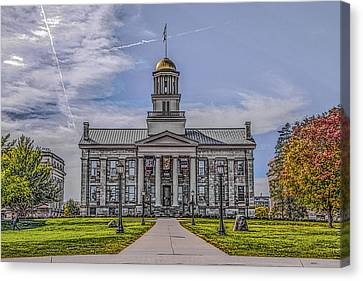 Old Capitol Canvas Print by Ray Congrove