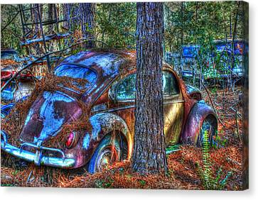 Old Car 04 Canvas Print by Andy Savelle