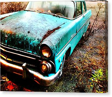 Old Car Canvas Print by Janice Spivey