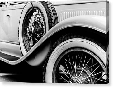 Old Car Canvas Print by Mauro Marzo