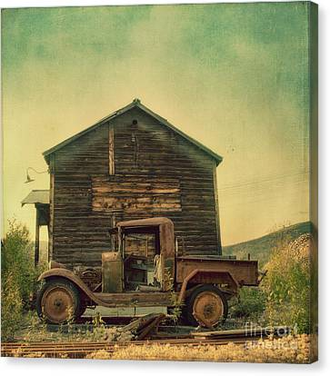 Abandoned Canvas Print by Priska Wettstein