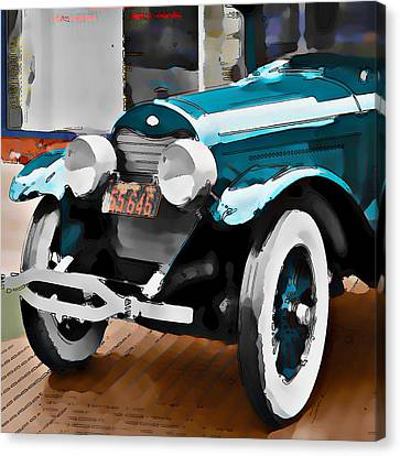 Old Car Canvas Print by Robert Smith
