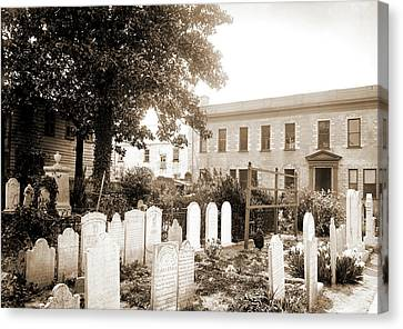 Old Cemetery, St. Michaels, Charleston Canvas Print by Litz Collection