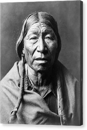 Old Cheyenne Man Circa 1910 Canvas Print