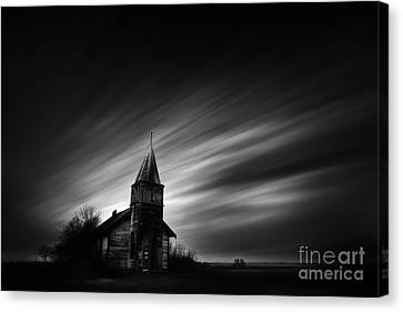 Old Church Canvas Print by Dan Jurak