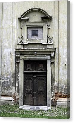 Old Church Door. Canvas Print