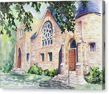 Old Church Canvas Print by Svetlana Howe