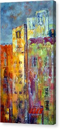 Old City East Canvas Print by Katie Black