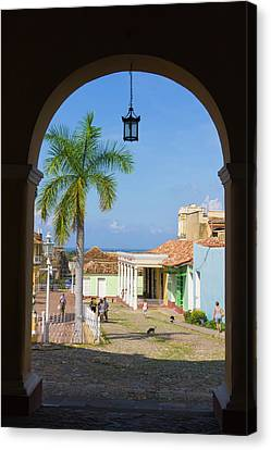 Old City Gate, Trinidad, Unesco World Canvas Print