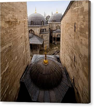 Old City Of Istanbul Canvas Print by Artur Bogacki