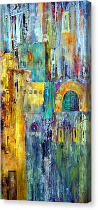 Localities Canvas Print - Old City West by Katie Black
