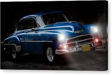 Old Classic Car I Canvas Print by Patrick Boening