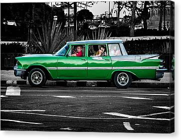Old Classic Car II Canvas Print