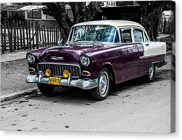 Old Classic Car Iv Canvas Print