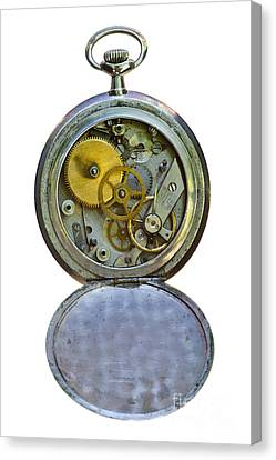 Old Clock Canvas Print by Michal Boubin