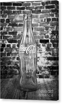 Old Cola Bottle Canvas Print by Serene Maisey