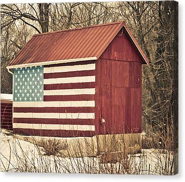 Old Country America Canvas Print by Trish Tritz
