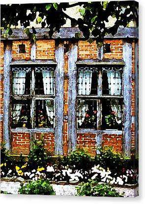 Old Country Charm Canvas Print by Gerlinde Keating - Galleria GK Keating Associates Inc