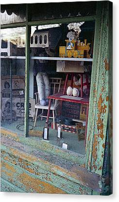 Old Country Store Display In Virginia Canvas Print by Thomas D McManus
