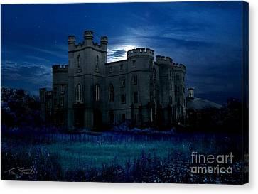 Old Court House Canvas Print by Tom Straub