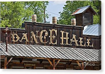 Old Dance Hall Canvas Print