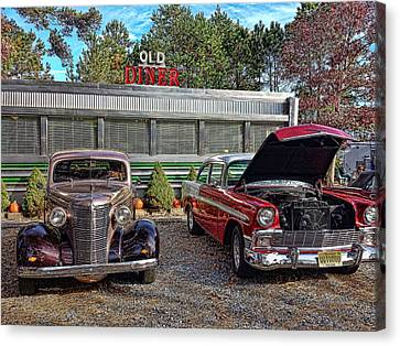 Old Diner Canvas Print