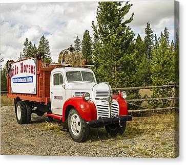 Old Dodge Truck Canvas Print