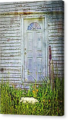 Old Door Canvas Print by Cheryl Cencich
