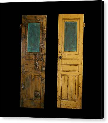 Old Door Canvas Print by Christopher Schranck