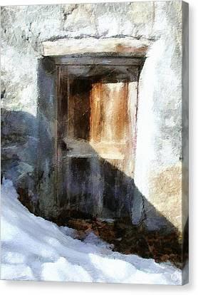 Old House Canvas Print - Old Door by Gun Legler
