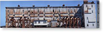Old Factory, Montreal, Quebec, Canada Canvas Print by Panoramic Images