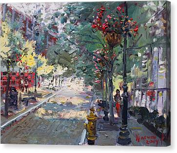 Old Falls Street Canvas Print
