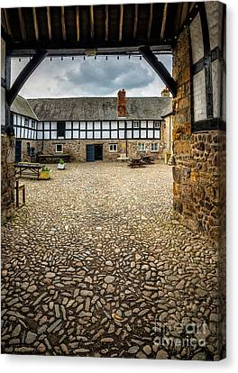 Beam Canvas Print - Old Farm by Adrian Evans