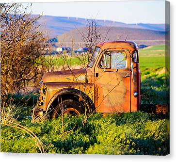 Old Farm Truck Canvas Print by Steve G Bisig