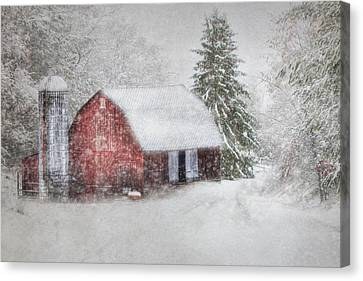 Old Fashioned Christmas Canvas Print by Lori Deiter