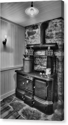 Old Fashioned Richardson And Bounton Company Perfect Stove. Canvas Print by Susan Candelario