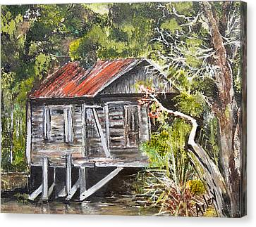 Old Florida Canvas Print