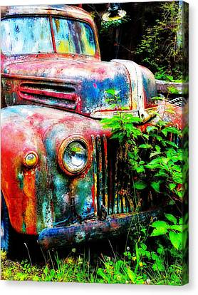 Old Ford #2 Canvas Print