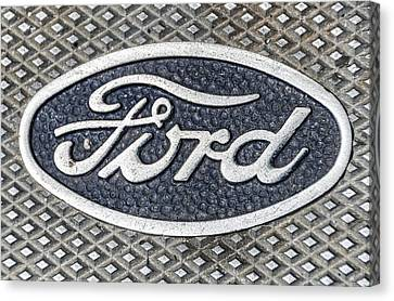 Old Ford Symbol Canvas Print