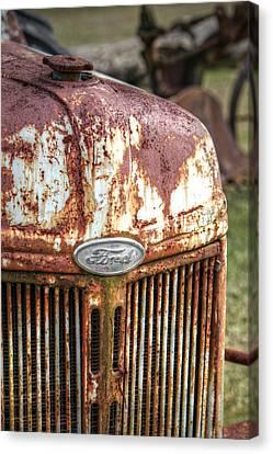 Old Ford Tractor Canvas Print by Lynn Jordan