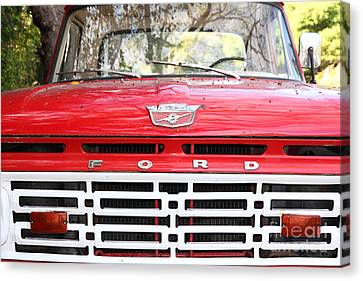 Old Ford Truck 5d22422 Canvas Print by Wingsdomain Art and Photography