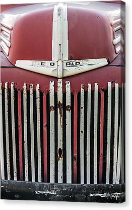 Old Ford Truck Canvas Print by Dale Kincaid