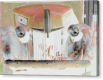 Old Ford Truck - Photopower Canvas Print
