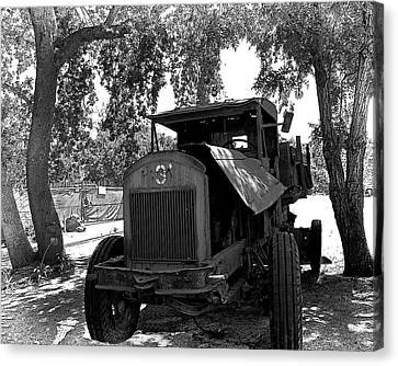 Old Ford Work Truck Canvas Print