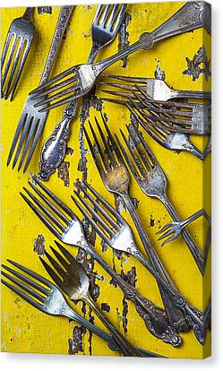 Old Forks Canvas Print by Garry Gay