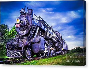 Old Fort Train Canvas Print