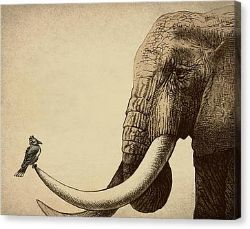 Old Friend Canvas Print by Eric Fan